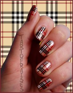 ♥ Nail Art On My Natural Nails
