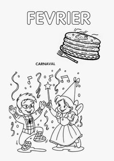 Présentation du classeur #4 - mois de février French Kids, French Art, Theme Carnaval, Mardi Grad, Diy Agenda, French Lessons, Teaching French, Lessons For Kids, Tour Eiffel