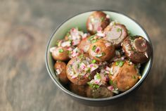 Simple and easy marinated mushrooms - entertain with them or keep them for yourself.