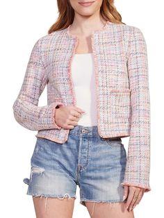BB Dakota Neon Belief Tweed Jacket   TheBay