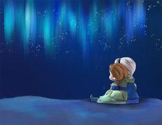 Frozen Fan Art: The Sky's Awake