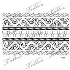 Marketplace Tattoo Polynesian armband 01 #3403 | CreateMyTattoo.com