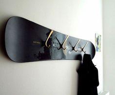 Мебель из сноубордов (подборка)