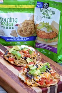 Looking for #vegetarian grilling options? These Veggie Pulled Pork Tostadas will make you happy! Full of smoky flavor & the works. #ad #VeggieSummerGrilling