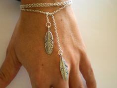 Feather Necklace or Bracelet.
