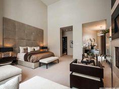 Modern comfortable sexy bedroom