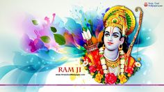When Rama is installed in the heart, every thing will be added unto you fame, fortune, freedom, fullness. Warm wishes on Happy Ram Navami Apple Wallpaper, 3d Wallpaper, Shree Ram Images, Traditional Henna Designs, Ram Navmi, Hanuman Hd Wallpaper, Happy Ram Navami, Birthday Banner Design, Lord Rama Images