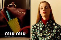 Miu Miu taps rising star  Estella Boersma for its pre-fall 2015 campaign