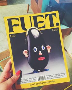 Just picked up issue #2 of Barcelona based @fuetmagazine a magazine for food lovers  Design & Art direction by @cordovacanillas #fuetmagazine #editorialdesign @chandalstore