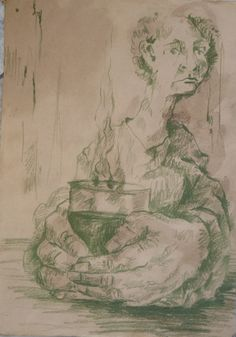 Pencil on paper By Elaheh Riyazat