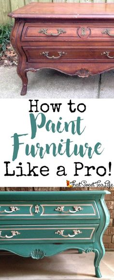 my easy to understand guide on paint furniture including what products to use, you can read it, download it, or print it out! | painted | how to paint | printable | easy painted furniture | chalk paint | milk paint