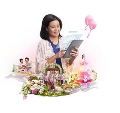 Telkomsel True Broadband Experience - Print Series on Behance Ad Design, Graphic Design, Double Exposure Photography, Photoshop Effects, Creative Advertising, Social Media Design, Digital Collage, Print Ads, Photo Manipulation