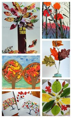 Most Popular Teaching Resources: 12 Amazing Fall Art Projects to Try Right Now - Ha...