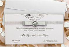 #FairePart #Mariage Blanc-Faire-part mariage #blanc et gris http://www.tour-babel.com/faire-part-mariage-blanc-gris.html