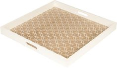 tray hexagon hexagon print tray tiles tray wit door square square tray ...