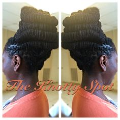 "She said, ""Make me look like Nefertiti."" I said, ""You got it queen."" ✨✨ ~~~~~~~~~~~~~~~~~~~~~~~~~~~~~~~~~~~~ Loc Style Styled By: Maquita James Call (803)-237-1894 or Book a consultation online at: www.styleseat.com/theknottyspot #dreadstyles #dreadlockstyles #theknottyspot #styles #masterloctician #locs #locstyles #twist #barrels #barreltwist #barreltwistupdo #locupdo #blackgirlsrock #blackgirlsloc #iamlocd #dreadstagram #dreadlockstyle #loclivin #locgoddess"