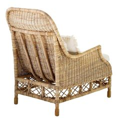 Eichholtz Rattan Armchair Empire *** Continue to the item at the image web link. (This is an affiliate link). Rattan Armchair, Sofa Chair, Armchairs, Wicker, Dining Chairs, Living Room, Elegant, Antiques, Furniture