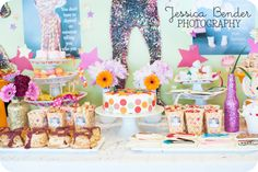 What is better than a ROCKSTAR party? A sequin, glitter Beyonce-style rockstar birthday party! Beyonce Birthday, Rockstar Birthday, Fourth Birthday, Birthday Party Themes, Rock Star Party, Beyonce Style, Party Entertainment, Childrens Party, Princess Party