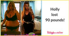 90 Pounds Lost: Finding true beauty! | ::: visit TheWeighWeWere.com to read weight loss transformations! :::
