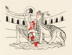 'The Martyrdom of St Saturus', Eric Gill, 1928 | Tate