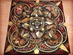 Mixed media on wood | Cindy Belseth / White Violet Art