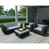 Found it at AllModern - Beach Grove Park Terrace 5 Piece Deep Seating Group with Cushions