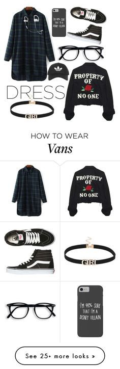 """"""""""" by zsartika on Polyvore featuring Vans, Topshop, Disney, High Heels Suicide and Beats by Dr. Dre"""