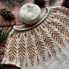 Ravelry: Brightfeather pattern by Jennifer Steingass Sweater Knitting Patterns, Knitting Designs, Knitting Projects, Crochet Patterns, Fair Isle Knitting, Knitting Yarn, Baby Knitting, Crochet Quilt, Knit Crochet
