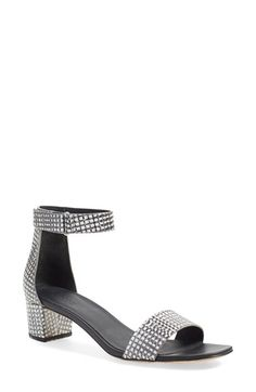 dcca8c850597 Vince Vince  Rita  Leather Ankle Strap Sandal (Women) available at   Nordstrom