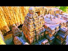 Kailasa Temple in Ellora Caves - Built with what Yogis call it Divine Intervention ... others might call it Extraterrestrial technology ... Today humans could never accomplish what was done thousands of years ago
