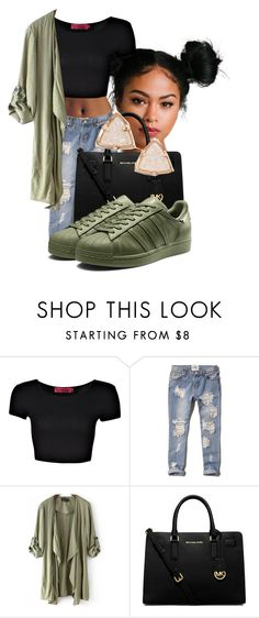 """""""9-27-15"""" by qveenally ❤ liked on Polyvore featuring Boohoo, Abercrombie & Fitch, MICHAEL Michael Kors and Kendra Scott"""
