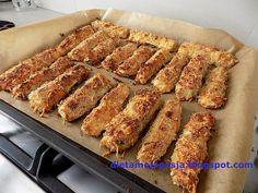 Dieta Moja Pasja: Paluszki z cukinii pieczone w piekarniku