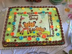 Fisher Price Cake · Jungle Theme PartiesBaby Shower ...