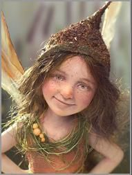 Pixie Girl Janni By Tatjana Raum, 2010. Also costume inspiration. I would wear that hat anywhere.