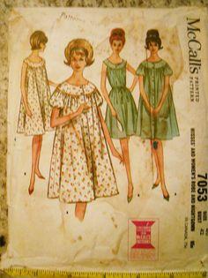 nightie Vintage Dress Patterns 91476ac32