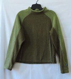 Kuhl  Alfpaca Fleece Green Sweater Size L #Kuhl #Sweater
