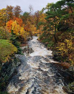 Autumn runs through it   by kenny barker