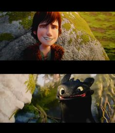 How to Train Your Dragon. Never seen the movie but this is to cute
