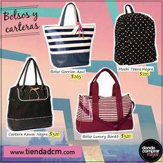 ¿Cuál es tu bolso preferido?  Encontralos en www.tiendadcm.com/products/list/brand/20730.