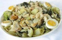 Receita de Roupa Velha de Bacalhau (Minho) | Cozinha Tradicional