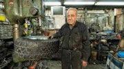 panoramic photo of Mordechay Milgrom, watchmaker, at his shop in Tel Aviv (Israel) Panoramic Photography, Tel Aviv, Ali, Ant