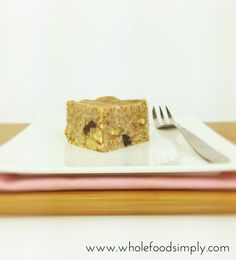No-Bake Banana, Date and Walnut Cake (Paleo, Free from gluten, grains, dairy, egg and refined sugar)