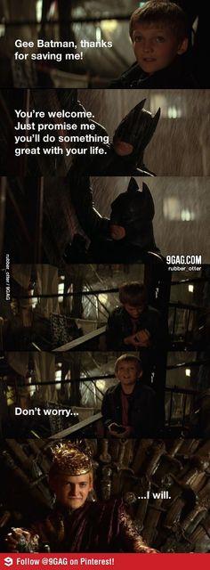 Batman vs Game of Thrones @Sara Eriksson Eriksson Christensen