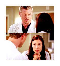 Grey's Anatomy couple, Slexie. Mark and Lexie (Eric Dane and Chyler Leigh)
