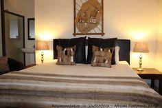 Bloemfontein Lodges. Comfortable rooms at African Footprints Lodge.