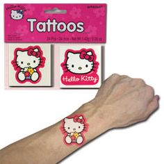 HELLO KITTY  FAVOR TATTOOS