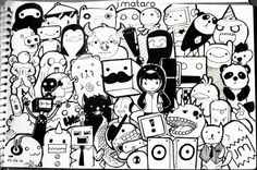 doodle characters - Google 검색                                                                                                                                                                                 More