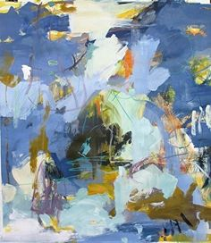 "John's Island III by Eileen Power Acrylic ~ 40"" x 36"""