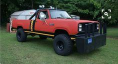 "190 Dodge Power Wagon from the detective tv show ""Simon & Simon "" 1981-1995"