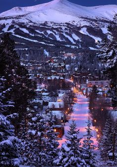 Breckenridge | Colorado | mountains | winter | Christmas | snow